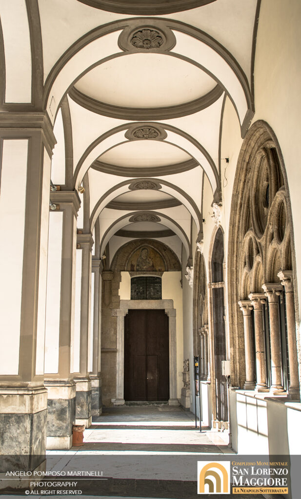 San Lorenzo Maggiore Napoli - Chiostro